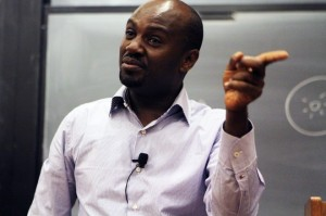 Andrew Mwenda, Founder of The Independent Magazine - Photo by Jeniffer Cheung